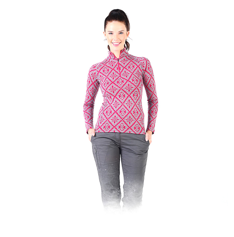 VENUS LONG SLEEVE WITH ZIPPER